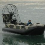 Surveyor hovercraft 15x7 26HP EFI