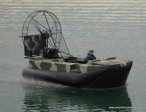 Surveyor hovercraft 15x7 26HP EFI