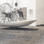 Airboat Barry Palmer 1960 Air Kinetics in Florida