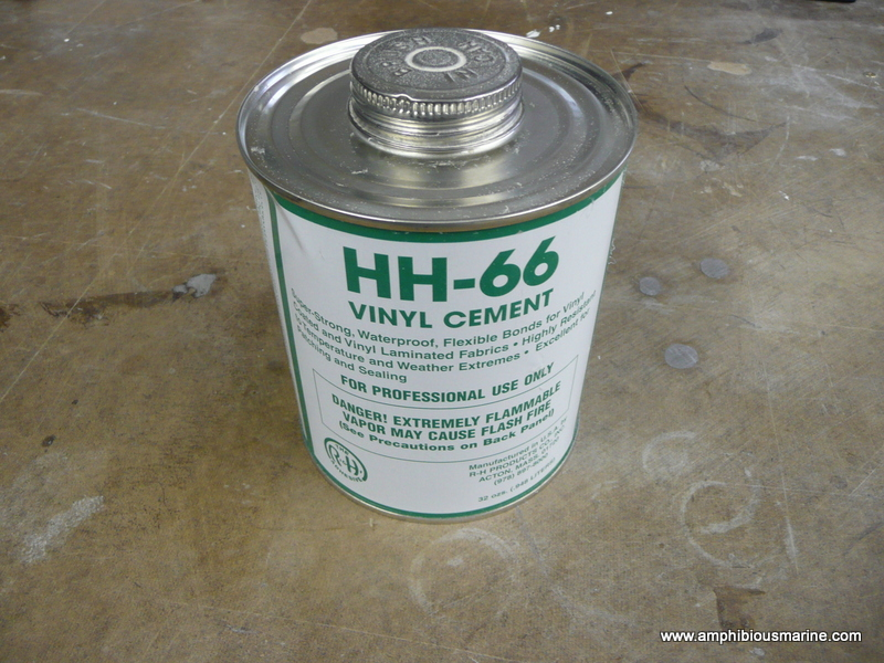 hh-66 vinyl cement, hh-66, vynil glue, skirt glue, hovercraft skirt glue