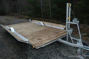 Hovercraft trailer