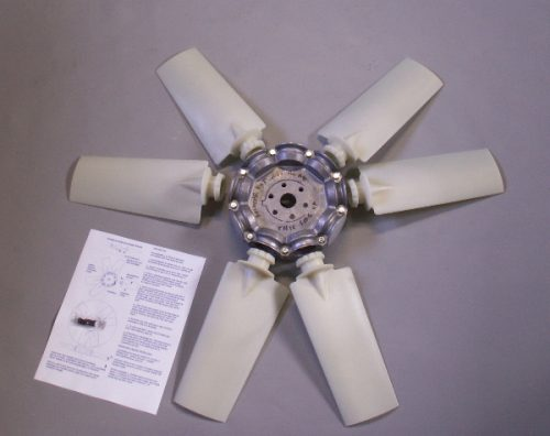 Hovercraft Lift Fan 6 blades