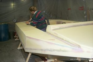 Amphibious Marine Surveyor Hovercraft construction, for sale.