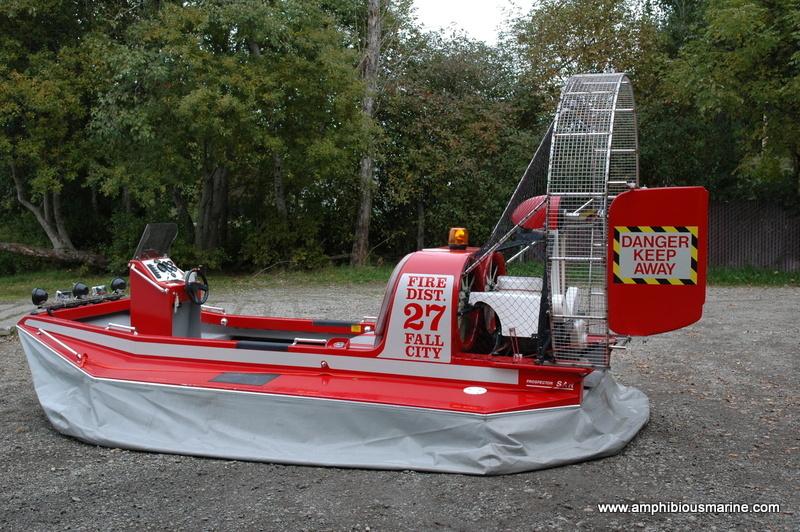 Prospector hovercraft, 80 hp