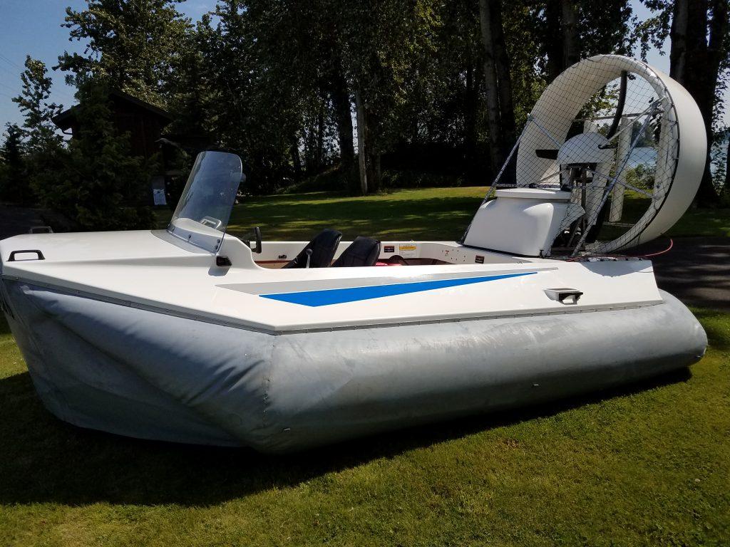 Amphibious Marine Vanguard used hovercraft