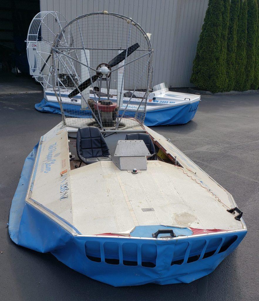 14ft Sevtec hovercraft for sale